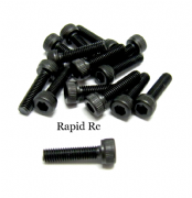 Socket cap Head high Tensile Bolts M3 x 12mm